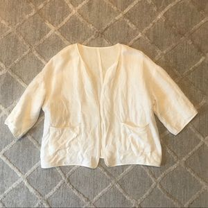 Sweaters - Off-White Sweater Jacket, Sz L *see notes